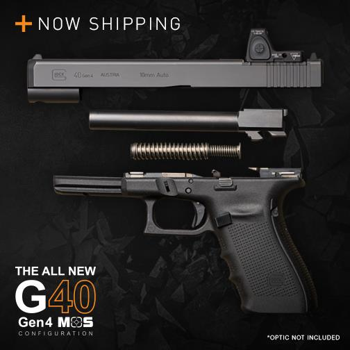 glock 40 mos with optic now shipping advertisement