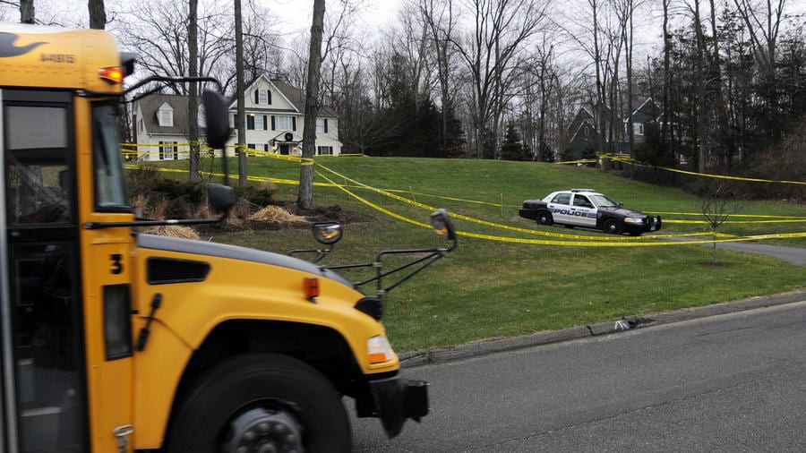 The two lawsuits made similar claims -- that Nancy Lanza purchased a Bushmaster AR-15 and kept it in her Yogananda Street home where her son had access to it. (Photo: The Hartford Courant)