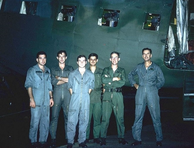A typical Spooky crew included the aircraft commander, pilot, navigator, flight engineer, loadmaster and two gunners.