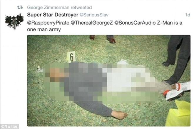 George Zimmerman tweet