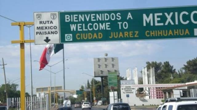 Ciudad Juarez, Chihuahua, Mexico, where the homicide rate peaked in 2010, but has had a rapid decline.