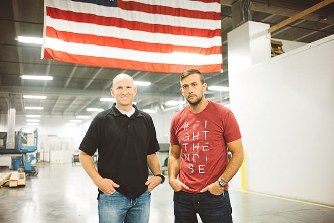 Denning-and-Josh-Waldron-co-owner-of-SilencerCo