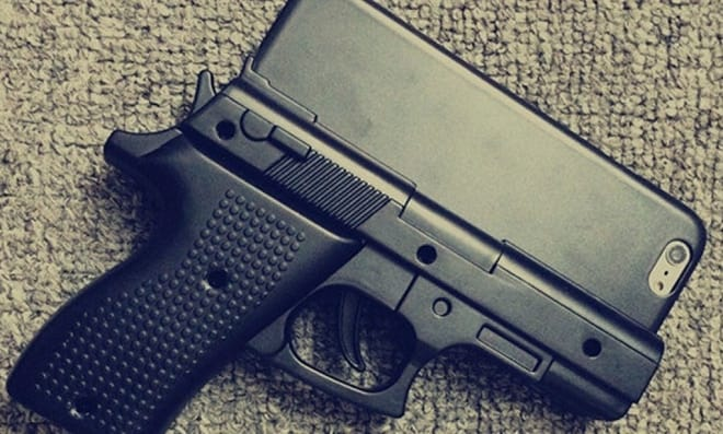 Illinois town latest to ban gun-shaped cell phone cases