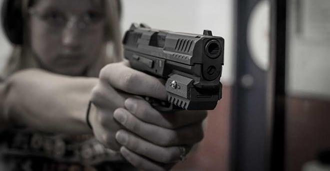 Mantis pistol training attachment