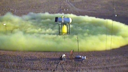 Army to release up to 10 tons of chlorine gas in test