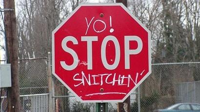 no snitch policy