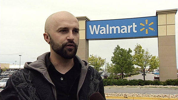 Derek Holt was fired from Wal-Mart after an incident with a suspected armed shoplifter. (Photo: Desert News)