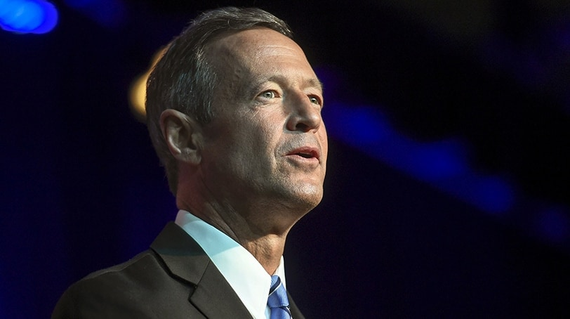 Former governor of Maryland and Democratic presidential candidate Martin O'Malley. (Photo: Craig Lassig / Reuters)