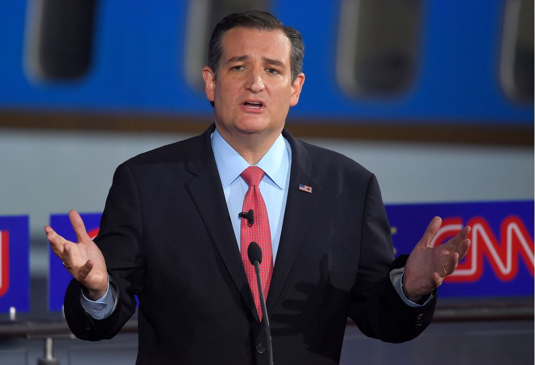 Republican presidential candidate, Sen. Ted Cruz, R-Texas, speaks during the CNN Republican presidential debate at the Ronald Reagan Presidential Library and Museum Sept. 16, 2015, in Simi Valley, Calif. (Photo: Associated Press)