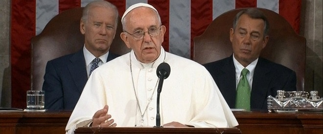 pope francis congress