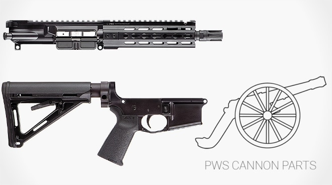 pws cannon parts cosmetic blemish discount max slowik