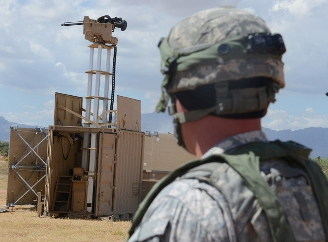 Remote-controlled weapons augment Soldiers on perimeter at NIE 16.1