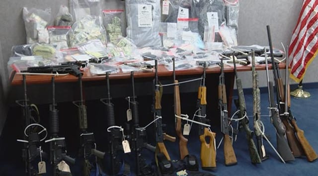 South Carolina drug bust contraband found in raid