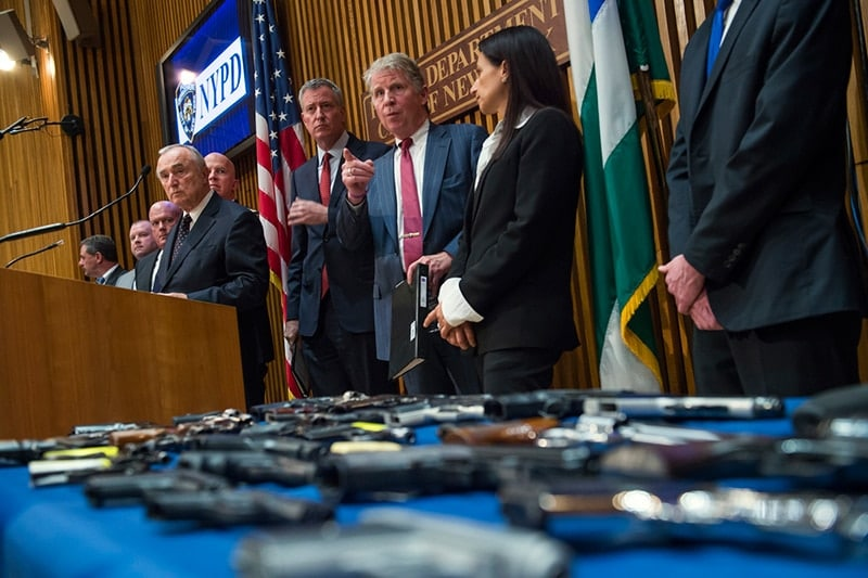 New York City officials say this is the 20th indictment for gun trafficking. (Photo: NYC Mayor's Office)