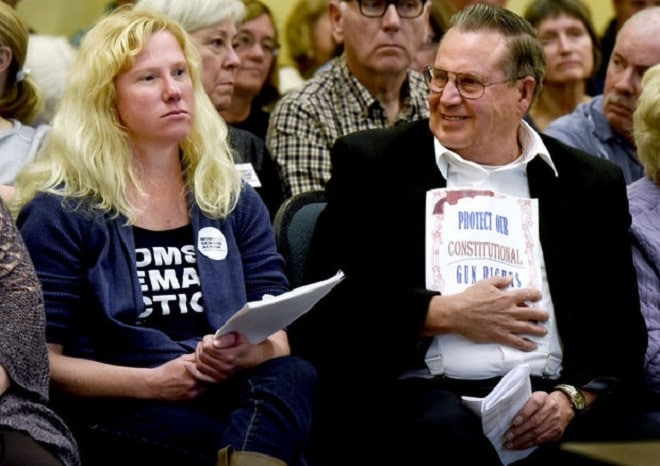 Opposing sides of gun issue face off in Missoula public meeting