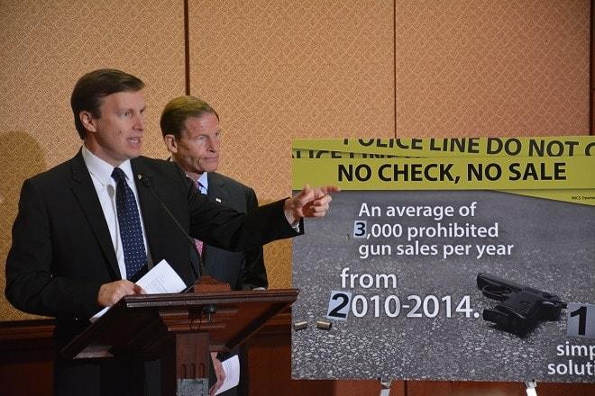 Senate Dems introduce 'No Check No Sale' bill for gun sales