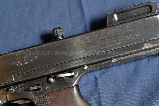 Town sells transferable select-fire Tommy gun online