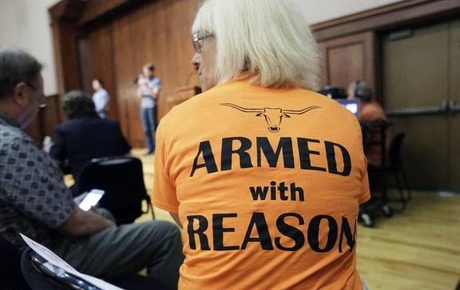 Univ. of Texas forum on campus carry leans towards no guns