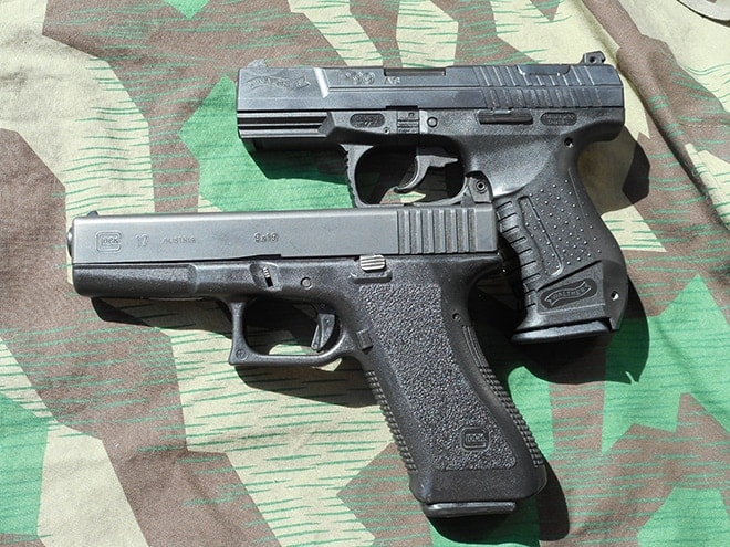 Walther-P99-Glock-17