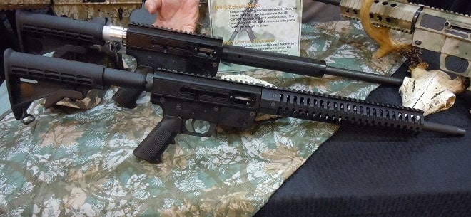 New York-based Just Right Carbines has a new .357 SIG model as well as an upcoming detachable stock