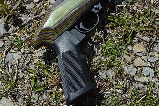 Ruger Charger Takedown with custom AR pistol grip