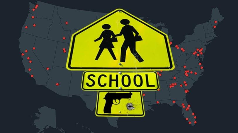Everytown map school shooting