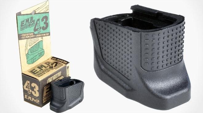 Strike Industries' Glock 43 +2 mag extensions