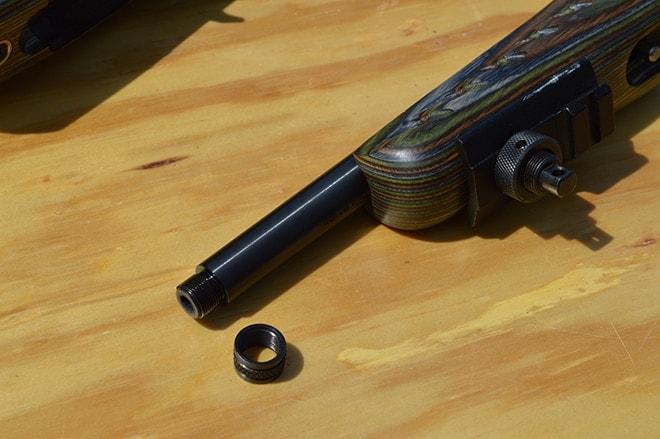 threaded barrel of ruger charger
