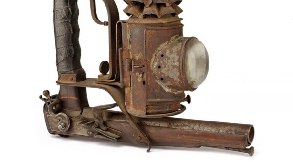Want to buy 19th century Italian tactical pistol lantern (5 PHOTOS)