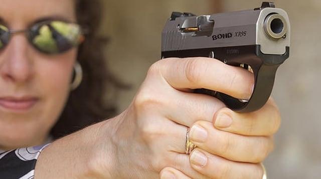 "What will soon be the ""Bondberg"" pistol."
