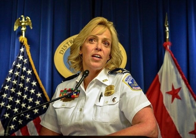 D.C. police chief advises citizens to 'take out' gunmen, drags feet on permits