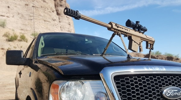 Full Mag ups the truck windshield tests to .50 cal BMG (VIDEO)