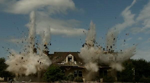 Home demo via APC, BMG and high explosives (VIDEO)