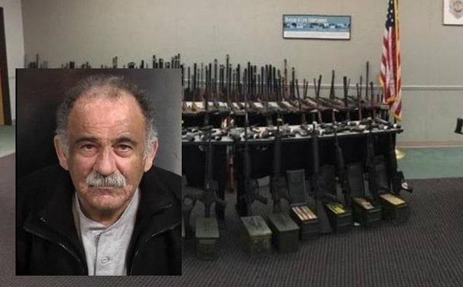 Lawyer argues CA man's seized 541 gun collection is legal