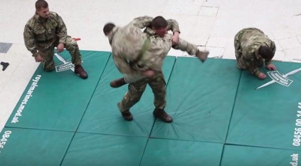 Marine commandos serve up unarmed tactics with baseball bat chaser