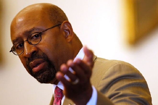 Philly mayor says American gun violence is same as Paris terrorism