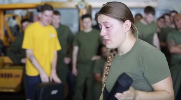 That'll clear your sinuses: Military pepper spray training (VIDEO)