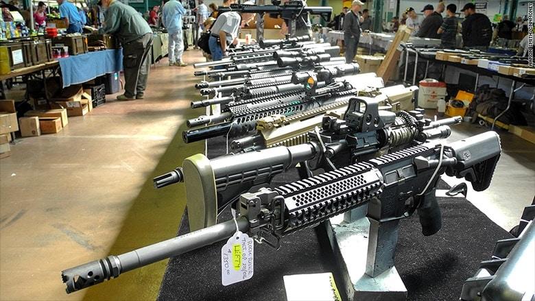 Gun show (Photo: CNN Money)