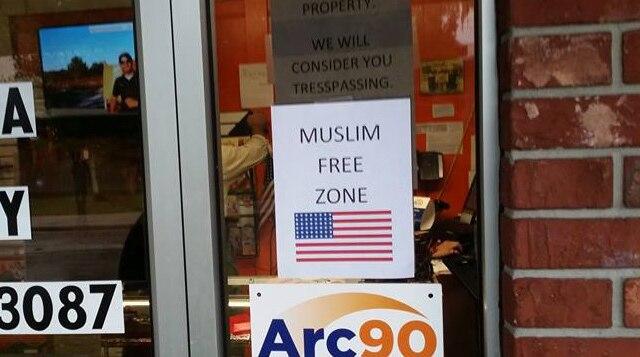 muslim-free-zone