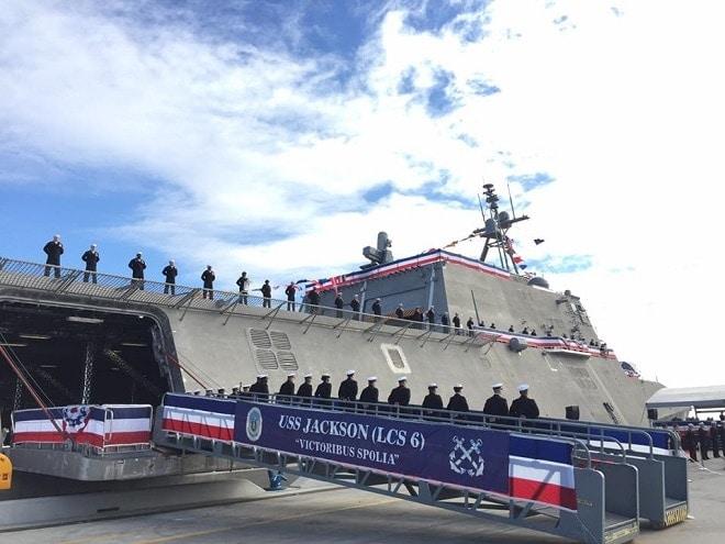 Activists criticize Navy's name choice for USS Jackson
