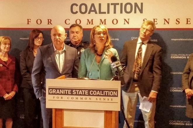 Gabby Giffords sets up new group to enhance NH gun laws