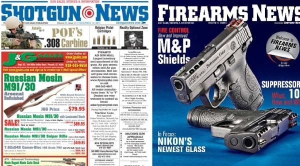 Goodbye Shotgun News, hello Firearms News