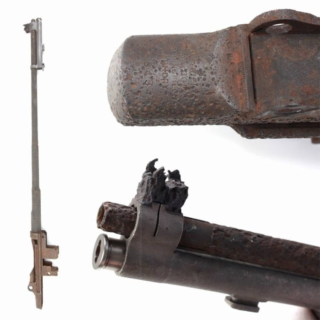This WWII-era Battle of the Bulge relic M1 Garand tells a story