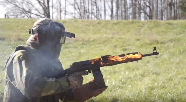 VEPR meltdown: Watch this AK stand up to over 800 rounds