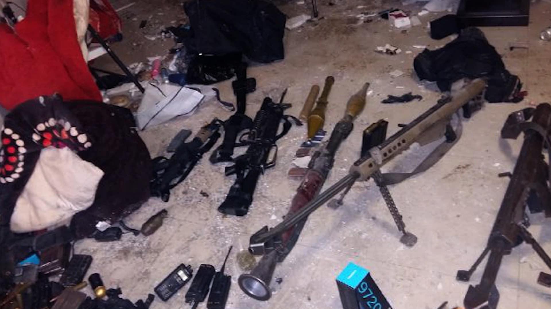 A peak at El Chapo's Sinaloa weapon's stash (3 PHOTOS)