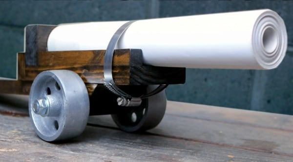 Building a black powder cannon from 50 feet of paper (VIDEO) - Guns com