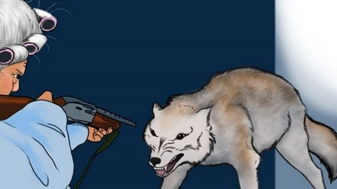 Gun control groups go ballistic after NRA reboots Red Riding Hood with a twist