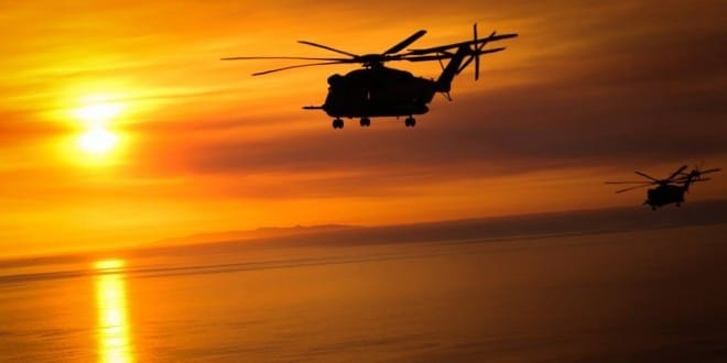 Two CH-53Es and their 12 Marines are missing off the coast of Hawaii. (Photo: DOD)