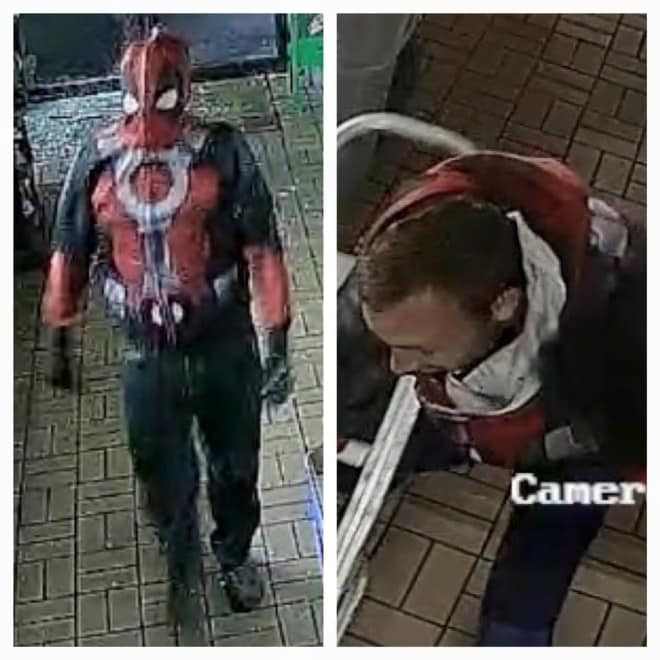 Police in Florida are looking for the worst Deadpool impersonators ever