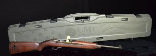 The CMP has M1 Carbines availible in limited supply